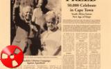 Ieri i vent'anni dalla scarcerazione del premio nobel per la pace Nelson Mandela