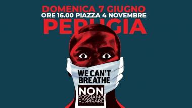 Black Lives Matter Perugia