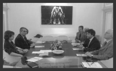 Incontro tra Confapi Umbria e Fiammetta Modena