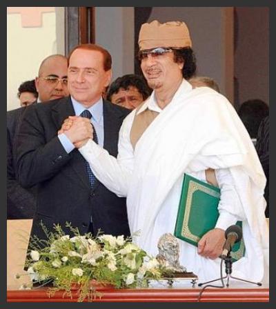 Un leader libico a Roma.