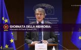 Giornata della Memoria: intervento di David Sassoli