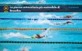 La piscina universitaria più sostenibile di Bruxelles